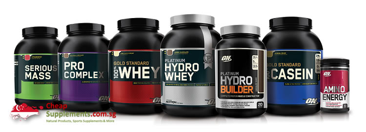 optimum nutrition on singapore range