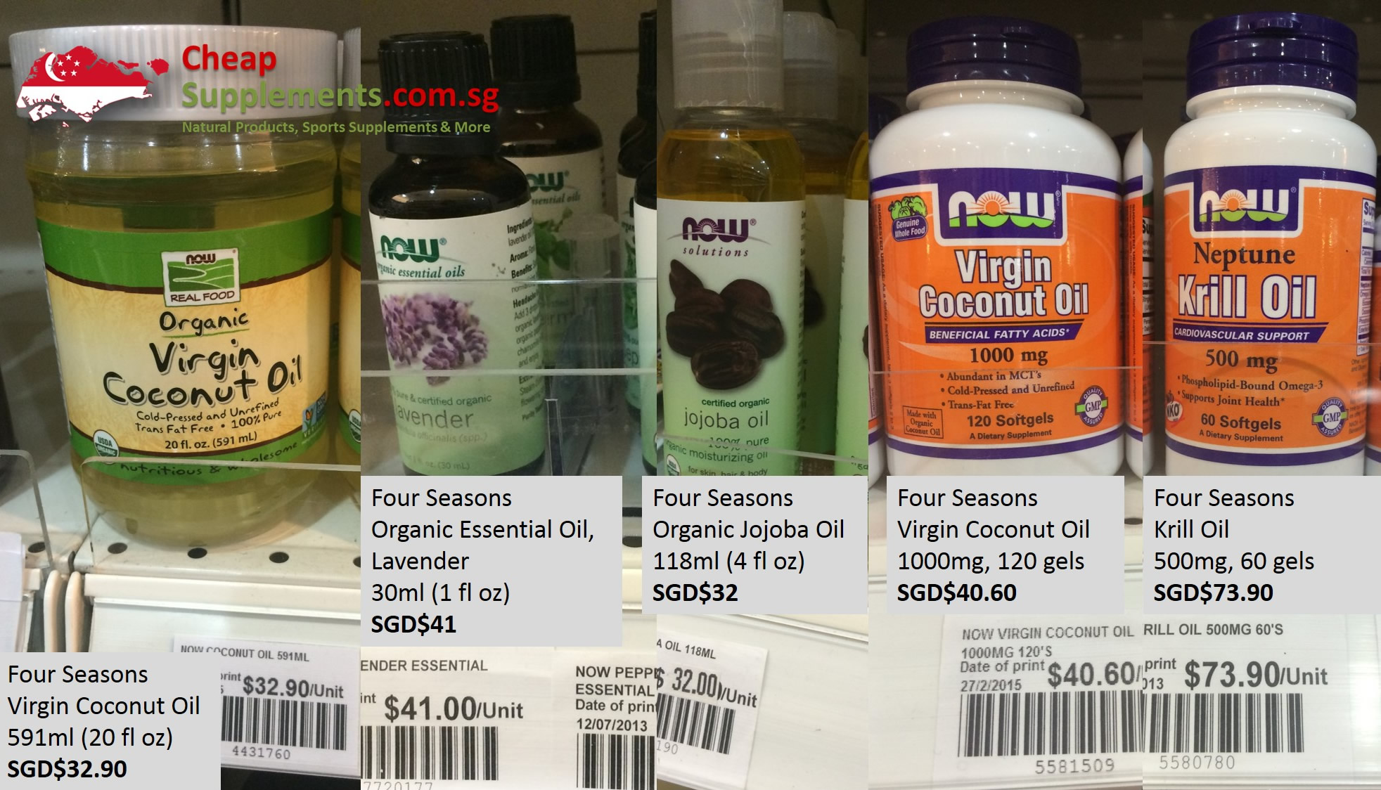 Now Foods Singapore - CheapSupplements com sg