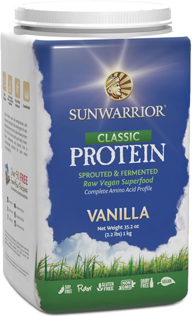 protein powder singapore - sunwarrior classic