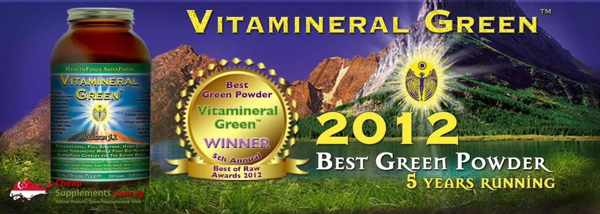 vitamineral green singapore award