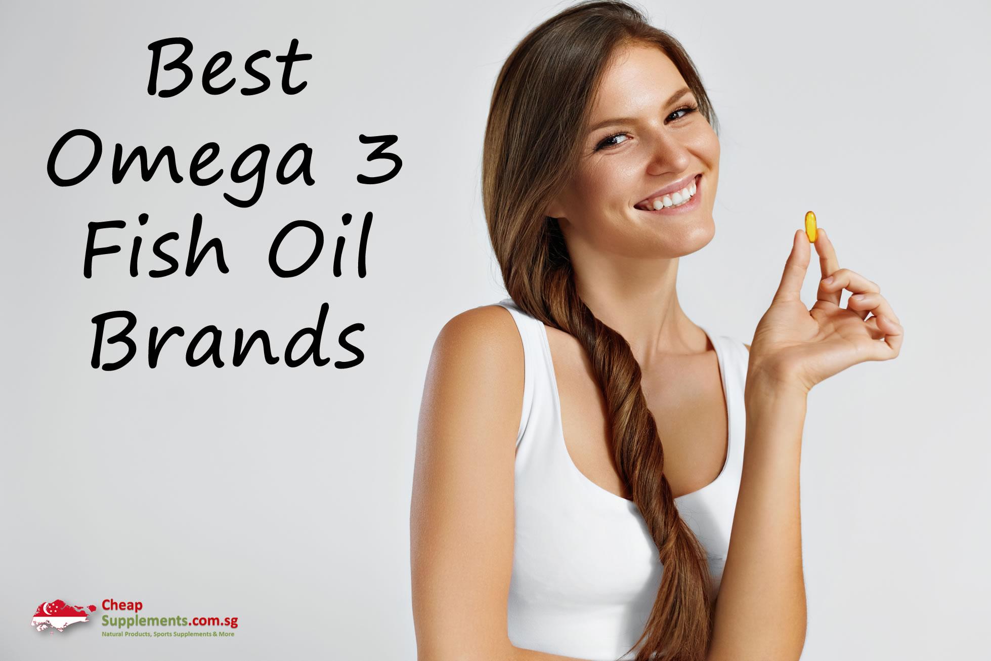 Best omega 3 fish oil brands for Best omega 3 fish