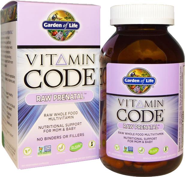 best prenatal vitamins garden of life