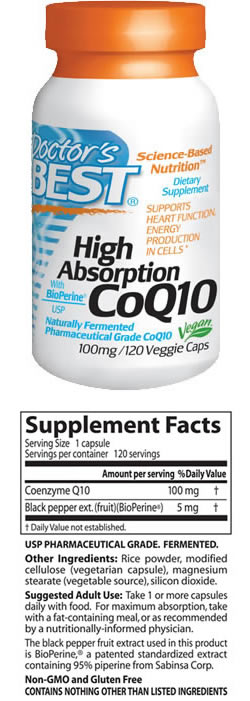 doctor's best singapore coq10 ingredients