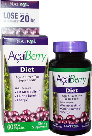 natrol singapore acai green tea