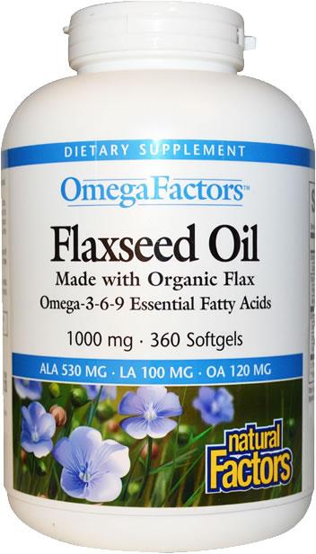 natural factors singapore flaxseed