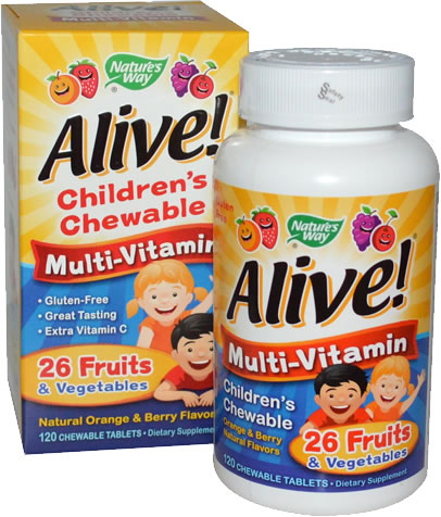 nature's way alive singapore green life children's chew