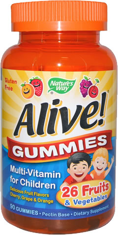 nature's way alive singapore green life children's gummies