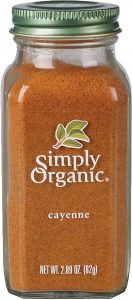 simply organic singapore cayenne